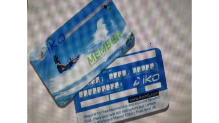 Carte Membre IKO (Test pratique)