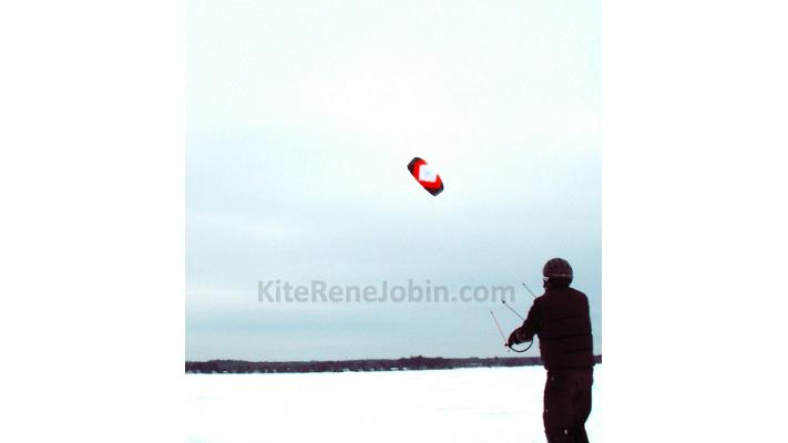 Forfait découverte 2hrs vers le snowkite/kiteski $86,95/pers