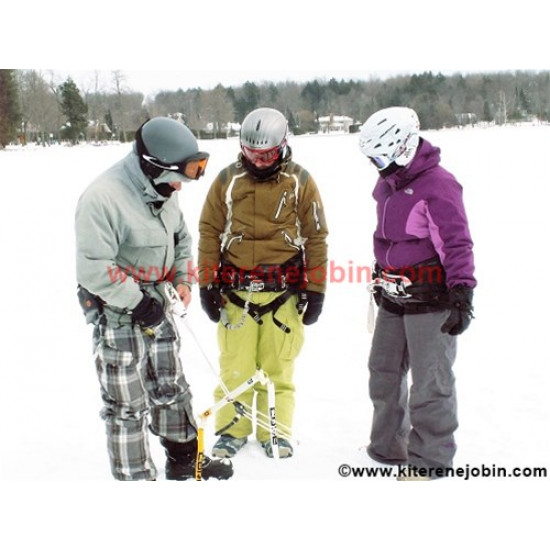 Forfait snowkite DUO   (3heures) $217.39/pers
